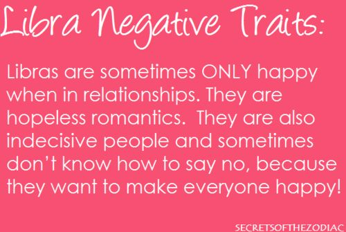 THE WORLD OF ASTROLOGY: Libra Negative Traits  I'm beginning to want to be in a relationship again... eek!