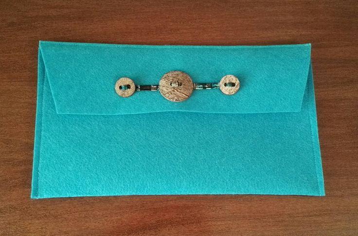 #handbag #felt #AT #myhandmade #torquoise #ethnicdetails fb.me/atmyhandmade atmyhandmade@gmail.com