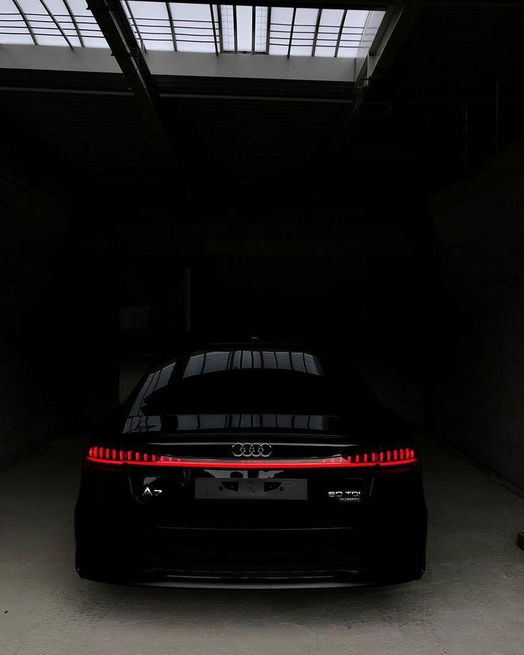 Audi A7 Black 2019 #Audi #A7 #audia7 #S7 #black #2019