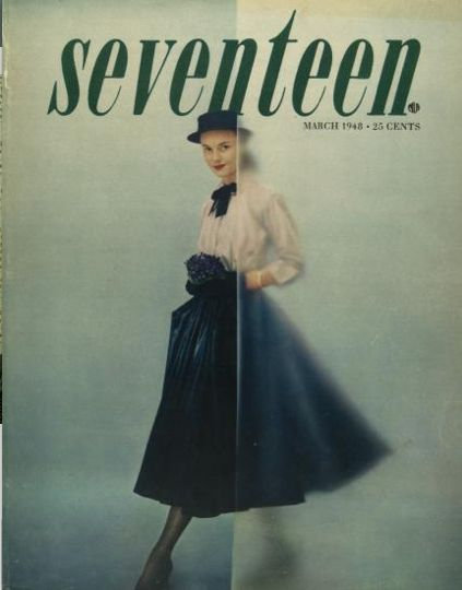 Seventeen , March 1948  by Cipe Pineles - First female Art Director