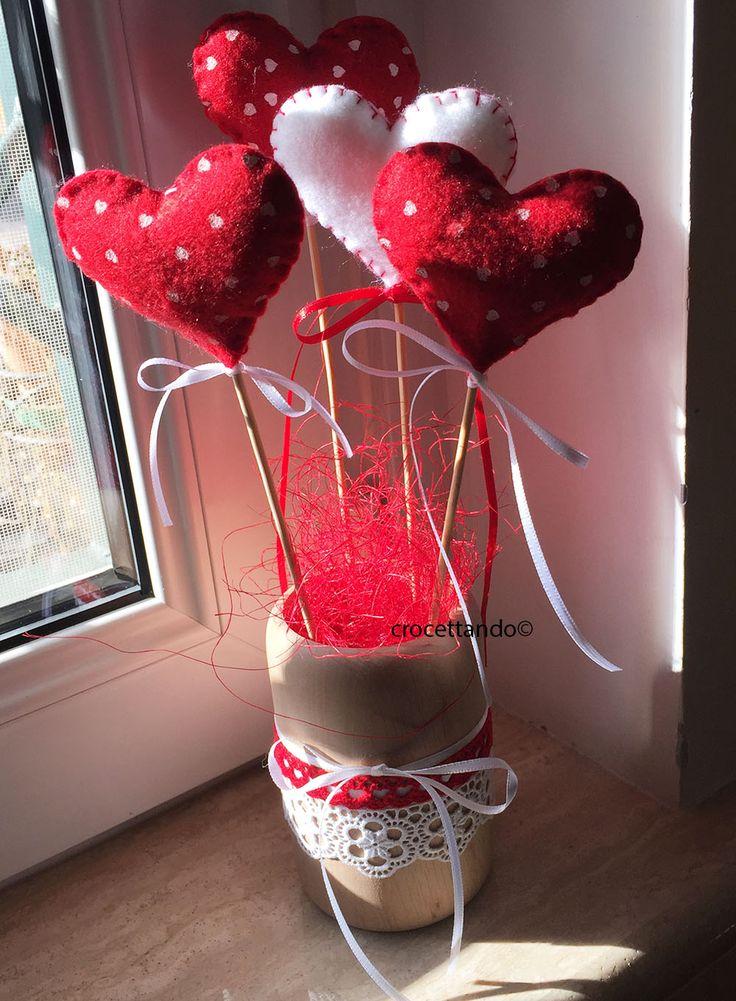 Saint Valentine by giuseppina ceraso https://crocettando.wordpress.com/2016/02/08/san-valentino-piccole-idee/