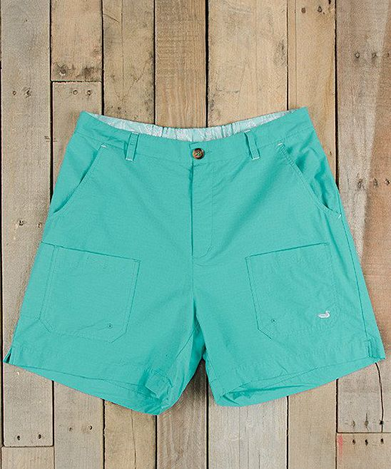 Antigua Blue Tarpon Fishing Shorts - Men