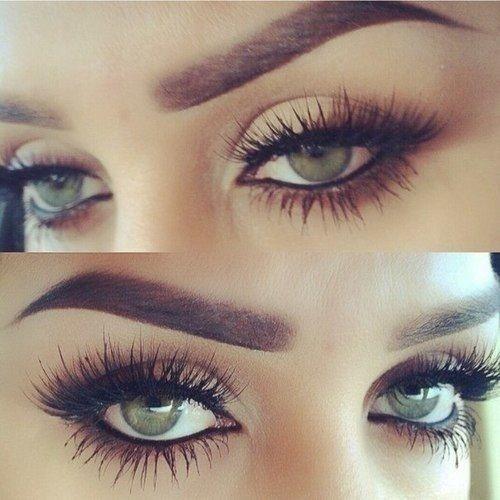 lovely eyelashes