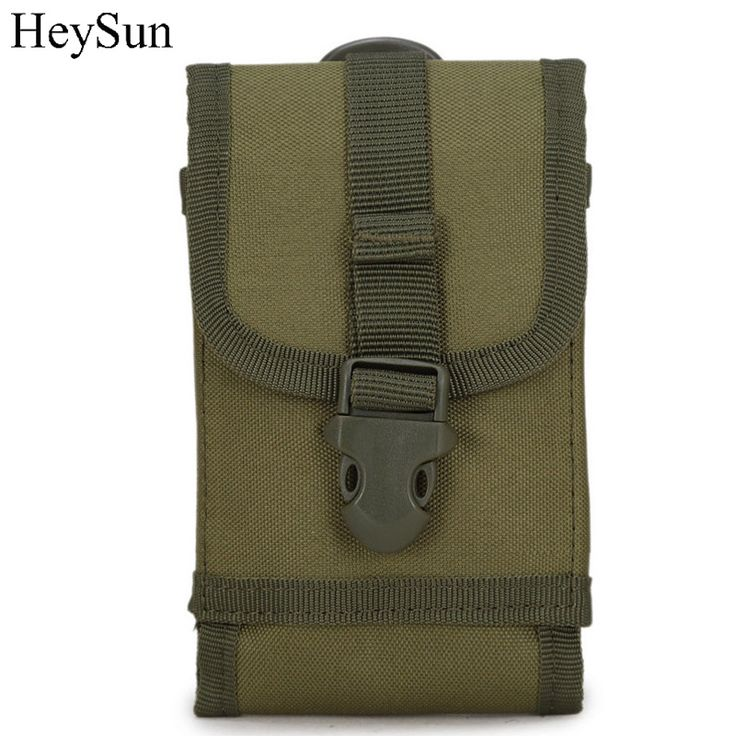 6 inch Universal Army Tactical Pouch for Mobile Phone, 600D Nylon Outdoor Molle Pouch Phone Holster Cover 4colors #Affiliate