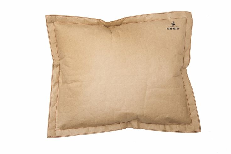 Paper pillow!Is a unique decorative pillow. It is made of a double layer of durable and waterproof woven paper. Pillow is ideal as a decoration to the library, coffee roasters, bookshops and home decor. Airbag is also suitable for sitting.  #pandamito