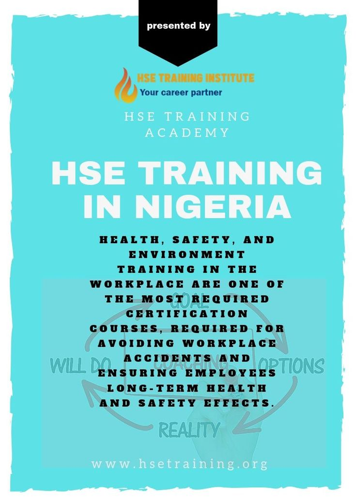 Hse training in nigeria learn all about the courses