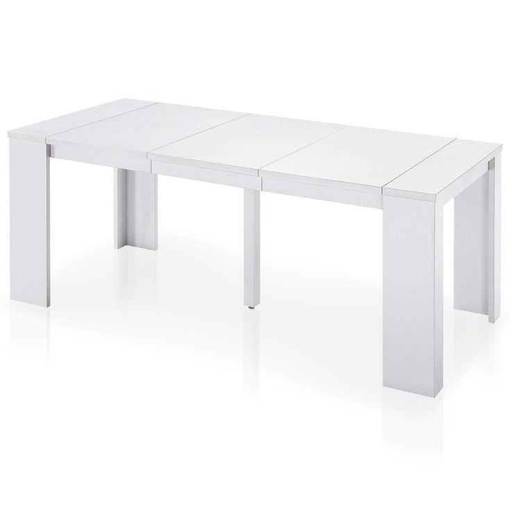 11 best salon images on pinterest console console for Table extensible 16 couverts