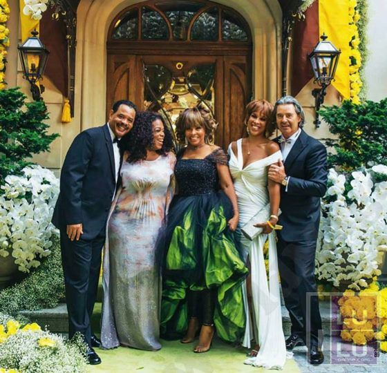 Tina Turner Marries Erwin Bach - Wedding Album. Oprah and Gail attend Tina's wedding.