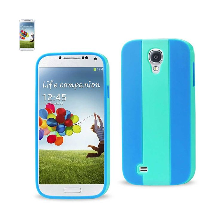 Reiko Samsung Galaxy S4 Striped Case Blue Navy | MaxStrata