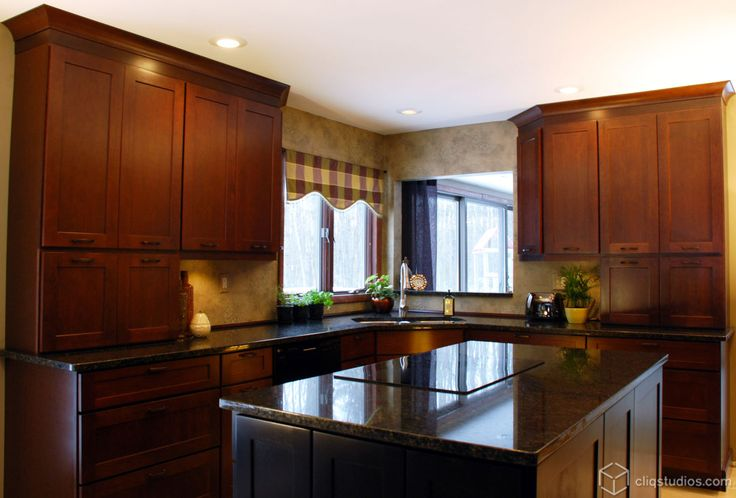 kitchen color images 59 best images about cherry kitchen cabinets on 3371