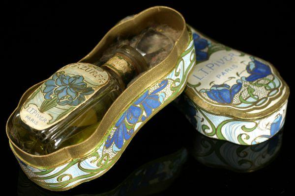 'Azurea' L.T. Piver | Art Francais – Art Nouveau Art Deco glas & parfum