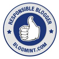 I am responsible blogger and so happy to get the #ResponsibleBlogging badge from Blogmint​...Always following the rules and determined to bring the best content to my readers, I am so appreciative of all the support I get from all of you who read my blog and give me valuable suggestions of improvement. Thank you! :) http://www.njkinnysblog.com/ http://njkinnytoursandpromotions.blogspot.in/