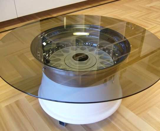 Wheel table