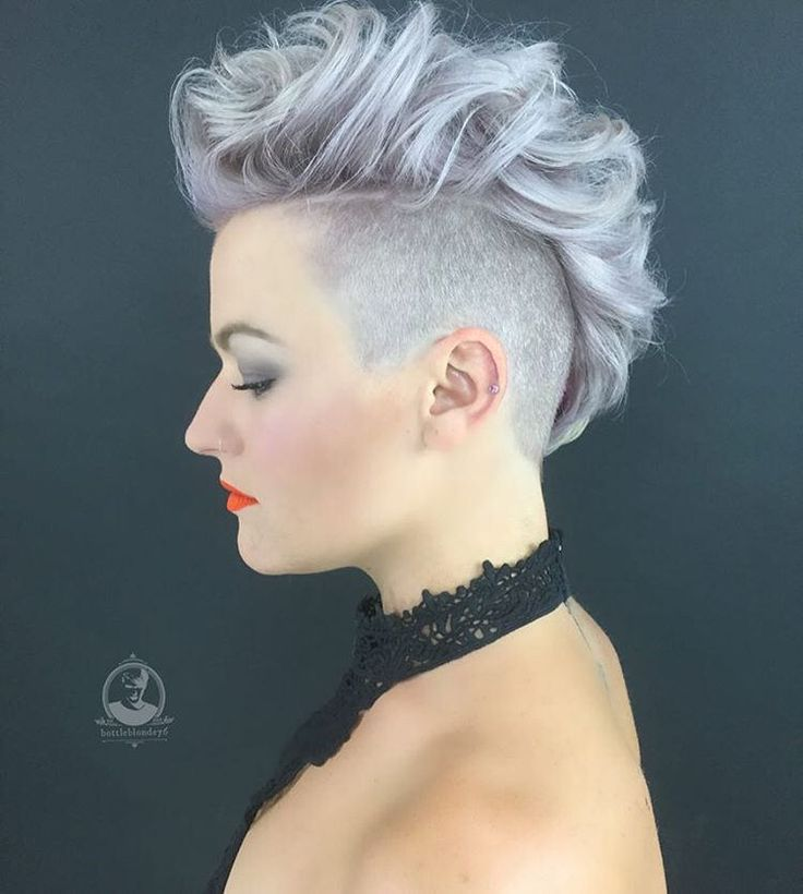 960 best images about Hair styles on Pinterest ... Undercut Mohawk