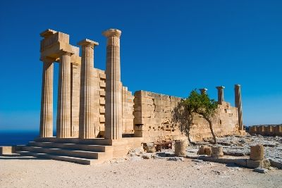 Lindos Acropolis, Rhodes, Greece