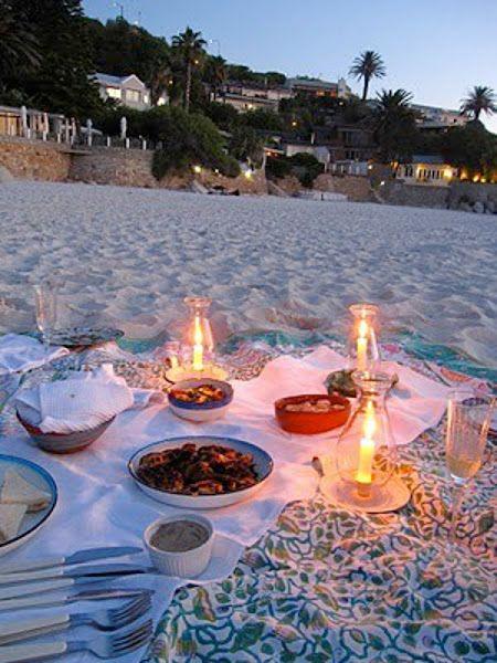 Un picnic en la playa   Decorar tu casa es facilisimo.com