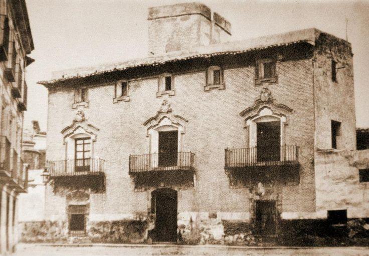 Casa palacio villacis destruido donde despues correos for Casa jardin murcia