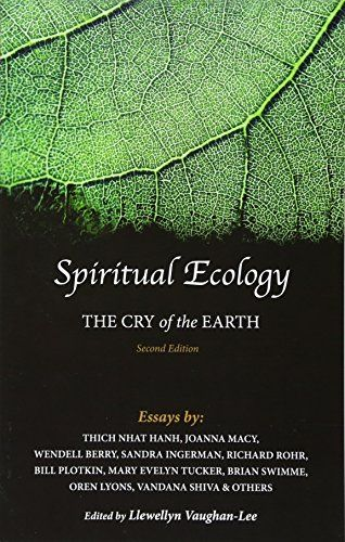 Spiritual Ecology: The Cry of the Earth by Llewellyn Vaug... https://www.amazon.com/dp/1941394140/ref=cm_sw_r_pi_dp_U_x_f8sYAbCEP35GV
