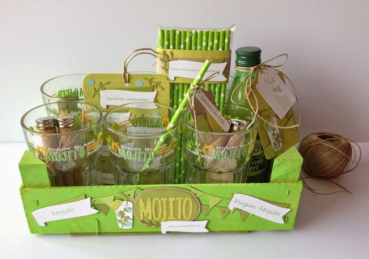 Feebellescrap: Inspiration 4enscrap/ensemble cadeau Mojito!