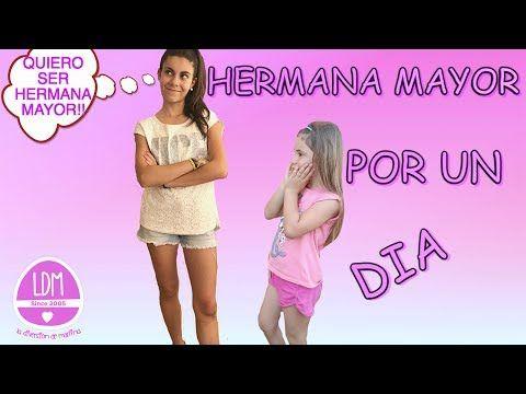 HERMANA MAYOR POR UN DIA/ COLABORACION / LA DIVERSION DE MARTINA - YouTube