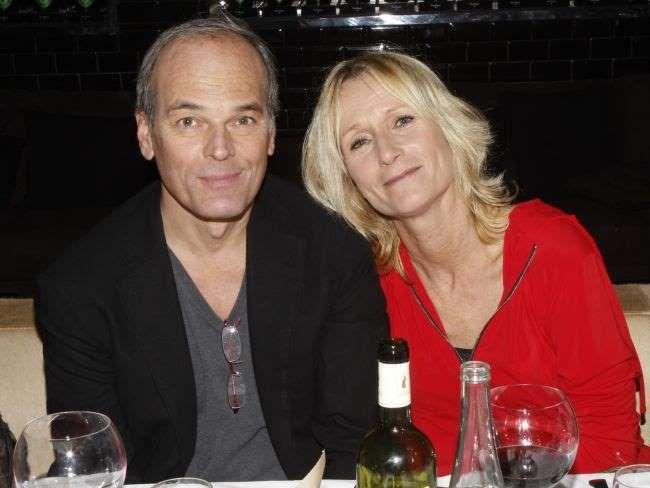 """Laurent Baffie et sa femme Sandrine lors du lancement de la collection """"Sissi"""" d'Edouard Nahum à La ... - BestImage"""
