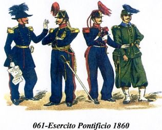 Army of Papal States 1860
