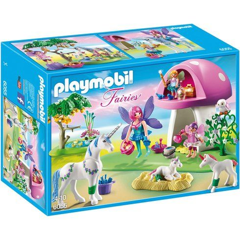 Superb Playmobil 6055 Fairies with Toadstool House Now At Smyths Toys UK! Buy Online Or Collect At Your Local Smyths Store! We Stock A Great Range Of Playmobil At Great Prices.