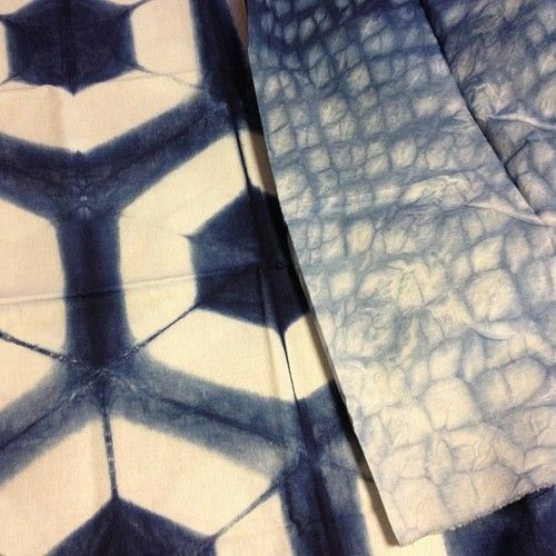 280 Best Images About Dyeing To Resist The Fold Shibori