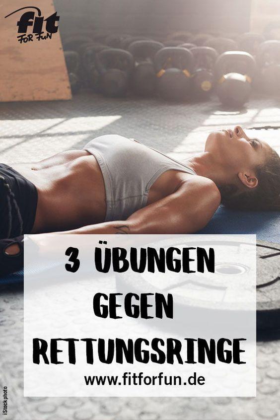 Flache Körpermitte: 3 Übungen gegen Hüftspeck – Karin Künkel