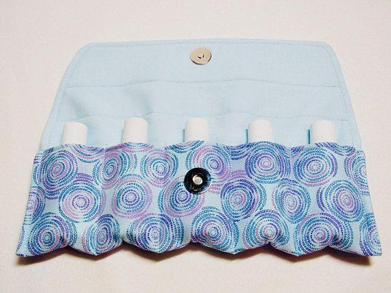 Essential oil clutch Oil storage bag Travel pouch Essential