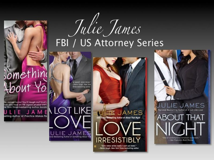 "Julie James ""FBI Series"""