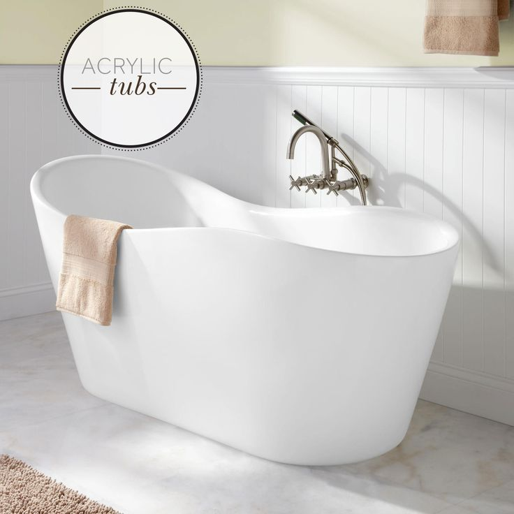 Trying To Decide Between An Acrylic Or Cast Iron Bathtub? Find Out The  Benefits Of