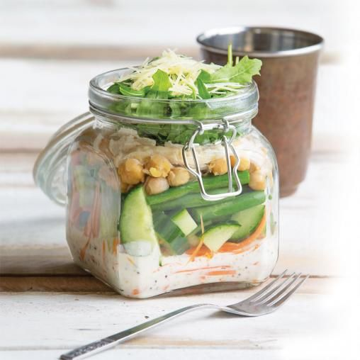 Chicken and chickpea salad   Australian Healthy Food Guide