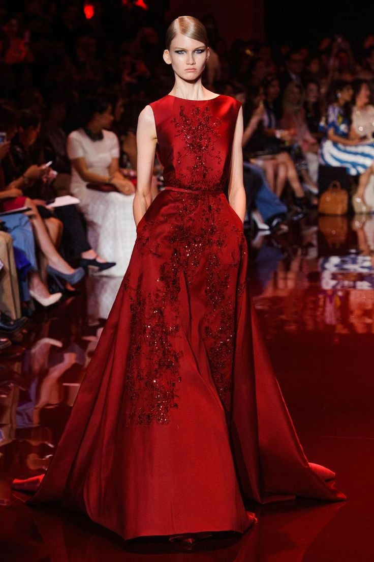 Elie Saab - Fall 2013 Couture 3 - The Cut - The Cut