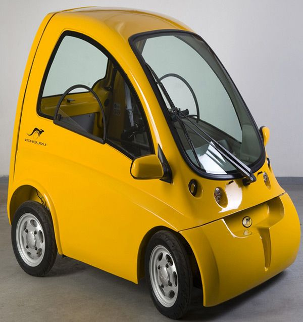 Kenguru Wheelchair-Accessible Electric Vehicle made in Hungary! Adorable or what!