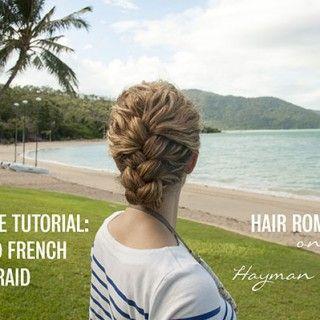 Hair Romance - Tucked French Braid tutorial video