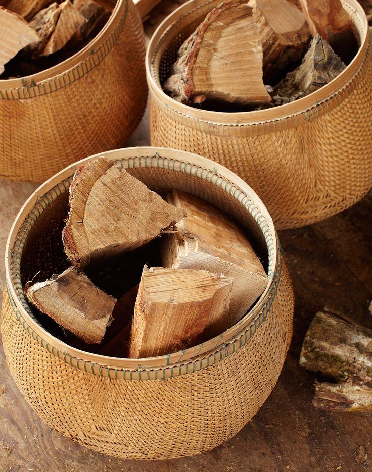 Bamboo Bulb basket