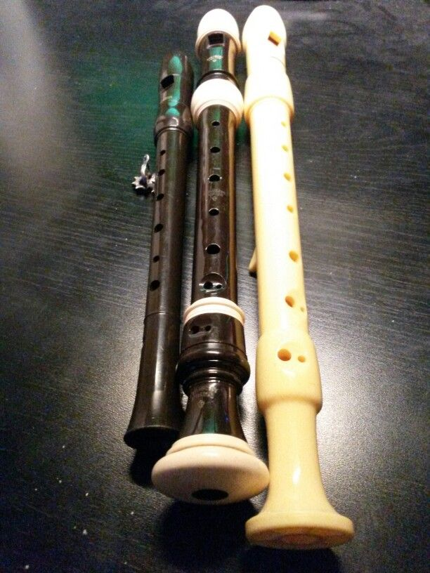Few different recorder.