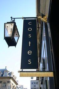 Hotel Costes   239-241 rue Saint-Honoré, 75001 Paris, France.