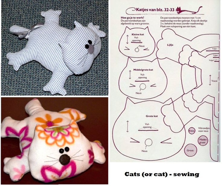 Cats (or cat) - sewing