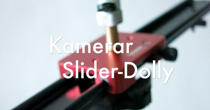Sliders for your video camera. An easy upgrade to get crisper and more professional looking video, no matter the camera you use.  Take a look at this quick overview of the Kamerar SD-1 Slider and Dolly Combo