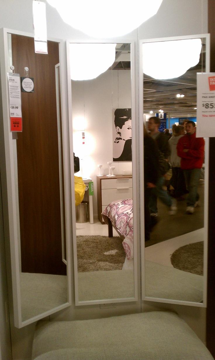 40 Stave Mirror X 3 Ikea Bedroom Ideas Pinterest