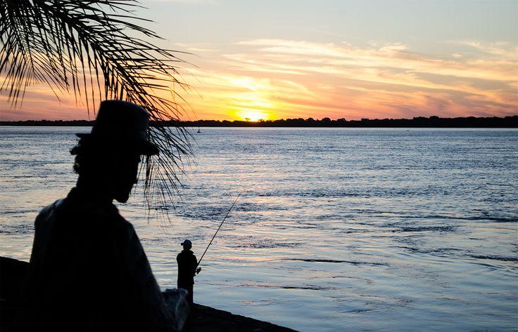Bella Vista, Corrientes, Argentina   Pescador, Río Parana