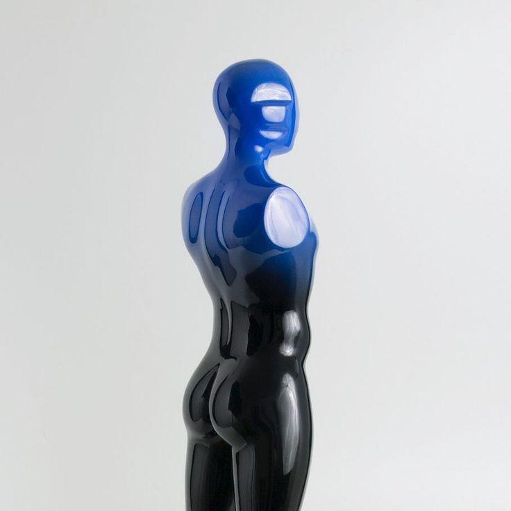 """""""Standing man"""" (2014) bronze edition of 6 #sculpture #fineart #contemporaryart #figurativeart #bronze #man #standing #strength #artist #expression"""