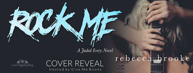 Cover Reveal - Rock Me by Rebecca Brooke  @RebeccaBrooke6     Title: Rock Me  Series: Jaded Ivory #1  Author: Rebecca Brooke  Genre: Contemporary RomanceCover Design: Cover Me Darling  Release Date: September 21 2017  Blurb  I am not a victim.  At least thats what I wanted to believe. What I wanted the world to see. Five years of trying to find the girl I hid from the world.  I wouldnt let the bullies win. I couldnt.  What was I supposed to do whenhewalked into the building? Hed made my high…