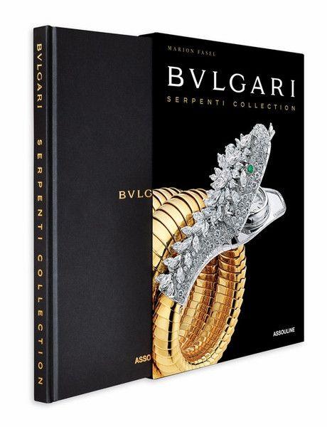Bulgari Serpenti Collection design by Assouline