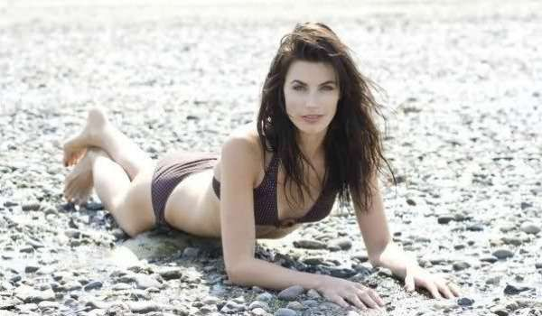 Meghan Ory in a Bikini