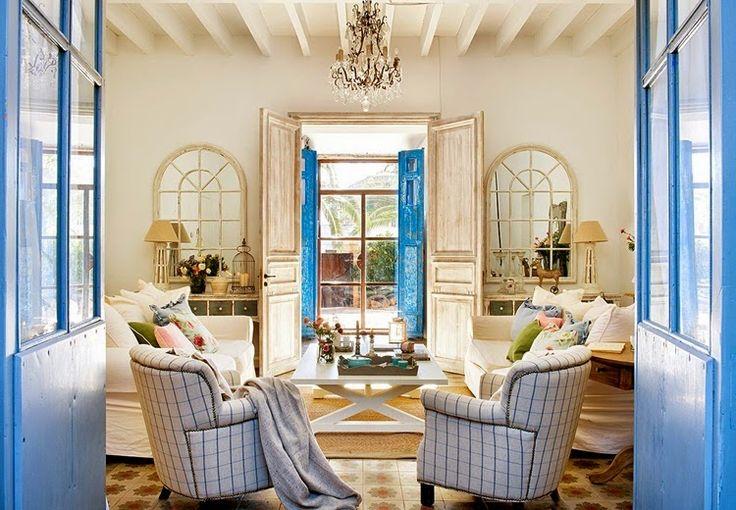 Невероятно женственный и уютный интерьер дома в Испании | Про дизайн|Сайт о дизайне интерьера, архитектура, красивые интерьеры, декор, стилевые направления в интерьере, интересные идеи и хэндмейд