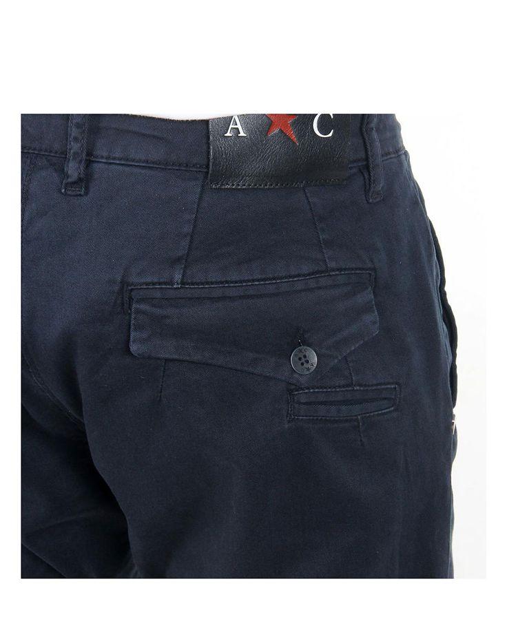 Pantalone uomo amara ANDREW CHARLES BY ANDY HILFIGER 12050 Blu - tital