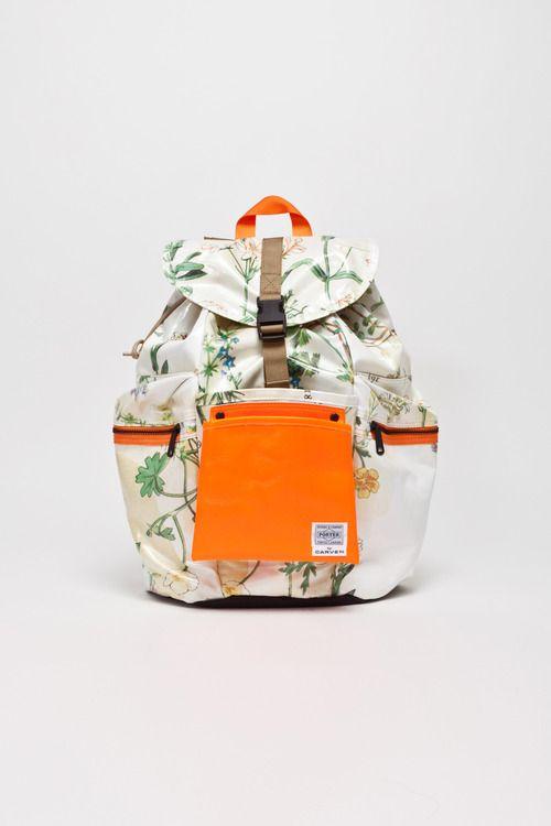 Porter Herbal Print Backpack Carven